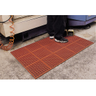 VIP-Tuffdek Rubber Red Mat 3 x 3 feet thumbnail