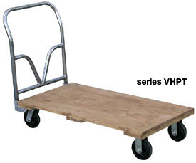 Portable Dance Floor Wood Top Cart