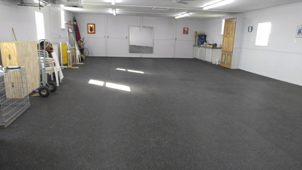 Training Room Flooring : Rubber flooring rolls inch confetti