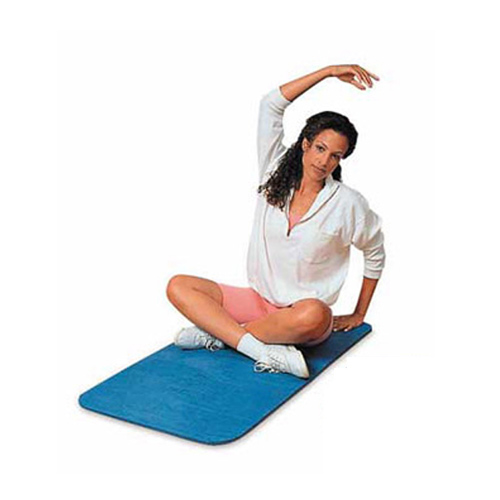Airex Exercise Mats Fitline 120 showing workout.