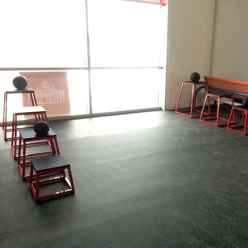 Rubber Flooring Roll Gym