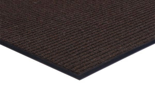 Apache Rib Carpet Mat 3x5 feet Brown
