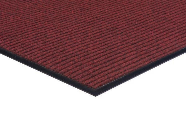 Apache Rib Carpet Mat 3x5 feet Red