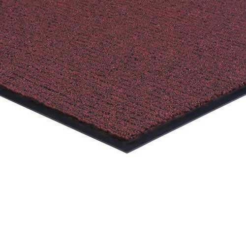 Brush and Clean Carpet Mat 3x4 Feet Burgundy