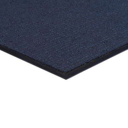 Brush and Clean Carpet Mat 3x4 Feet Navy Blue