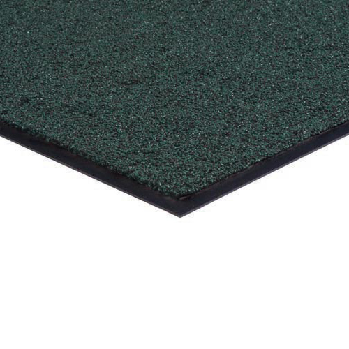 Brush and Clean Carpet Mat 3x4 Feet Hunter Green