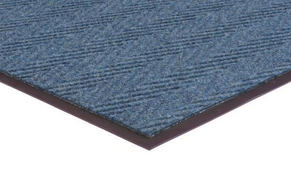 Chevron Rib 2x3 feet Blue