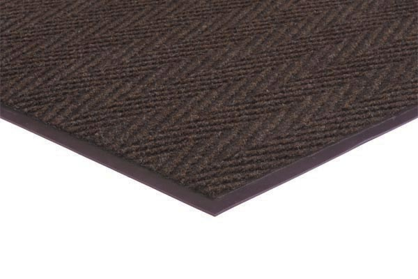 Chevron Rib 2x3 feet Brown
