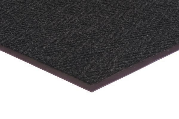 Chevron Rib 2x3 feet Charcoal