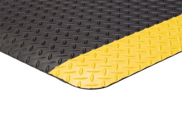 Diamond Foot Colored Borders 2x3 feet Yellow