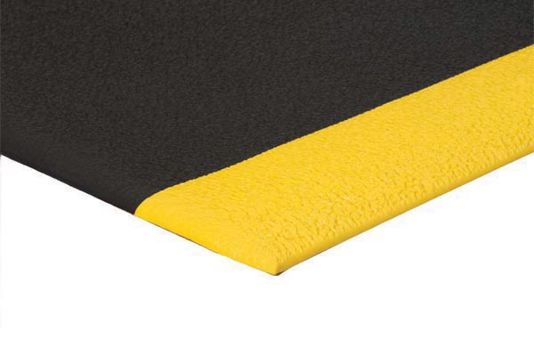 ErgoFlex 1/2 inch thick 2x3 feet Black/Yellow
