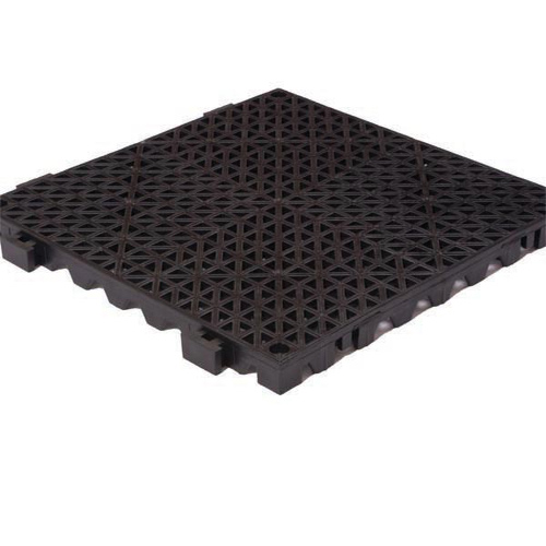 GridStep Yellow Female Border Ramp 12x2.5 Inch Tile