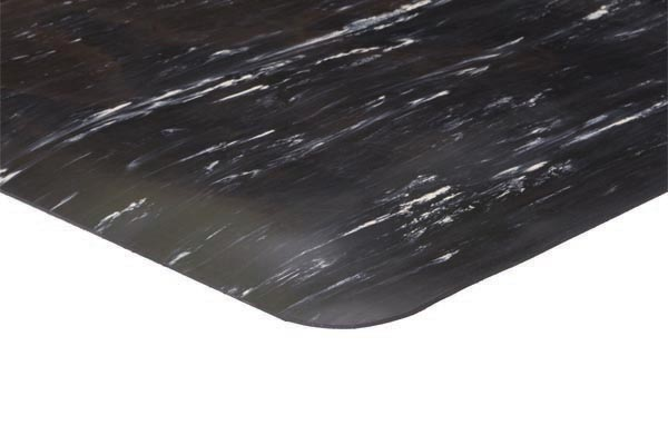 Marble Foot Mat 2x3 feet Black