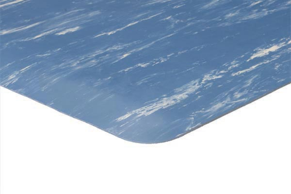 Marble Foot Mat 2x3 feet Blue