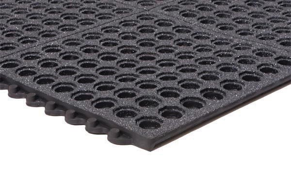 Performa GritTuff Black 3x3 Feet Black