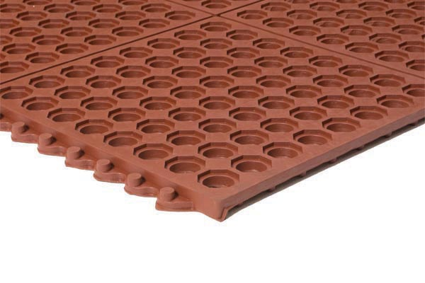 Performa Red Mat 3x3 Feet Red