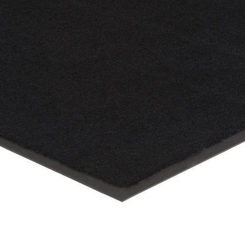 Plush Tuff Solid Carpet Mat 4x8 Feet Black