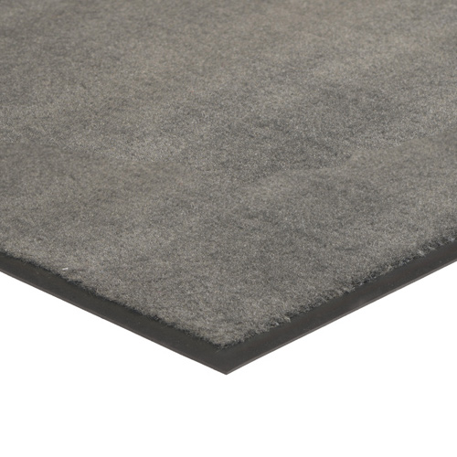 Plush Tuff Solid Carpet Mat 4x8 Feet Gray