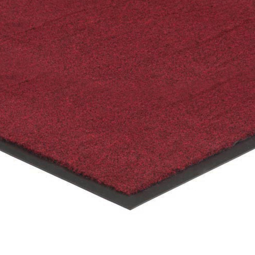 Plush Tuff Carpet Mat 3x6 Feet Red/Black