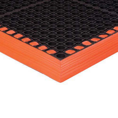Safety TruTread 4-Sided GritTuff 40x52 Inches Orange
