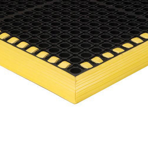 Safety TruTread 4-Sided GritTuff 40x52 Inches Yellow