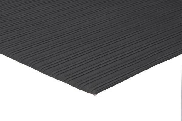 Soft Foot 1/4 inch thick 27x36 inches black emboss