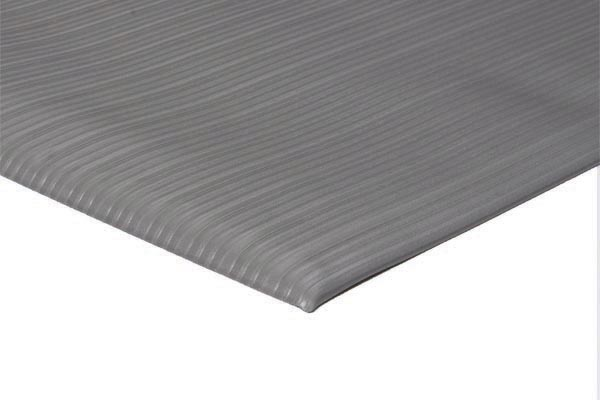 Soft Foot 1/4 inch thick 27x36 inches gray emboss
