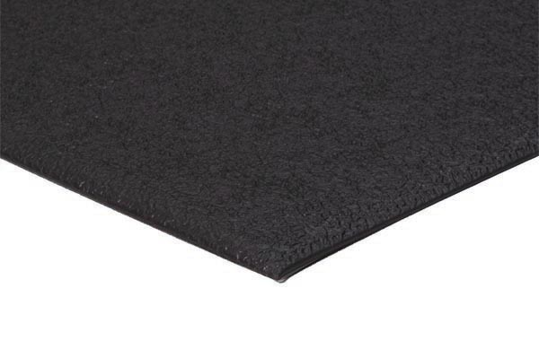 Soft Foot 1/4 inch thick 27x36 inches black pebble