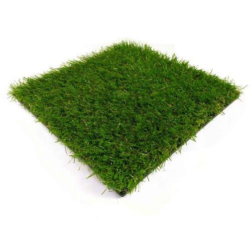 Artificial Grass Turf Tile 1x1 ft 25 mm one tile.