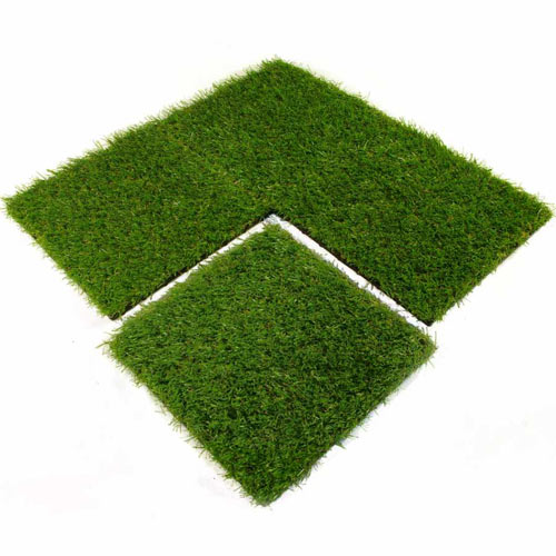 Artificial Grass Turf Tile 1x1 ft 25 mm 4 tiles.