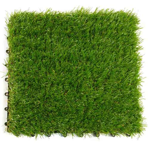 Artificial grass turf tile artificial turf grass turf tile for Grass carpet tiles
