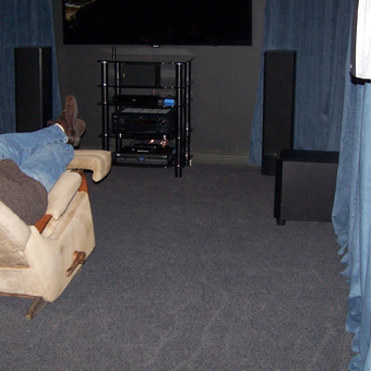 Create a comfortable basement family room with Greatmats flooring options. & Family Room Basement Flooring Ideas