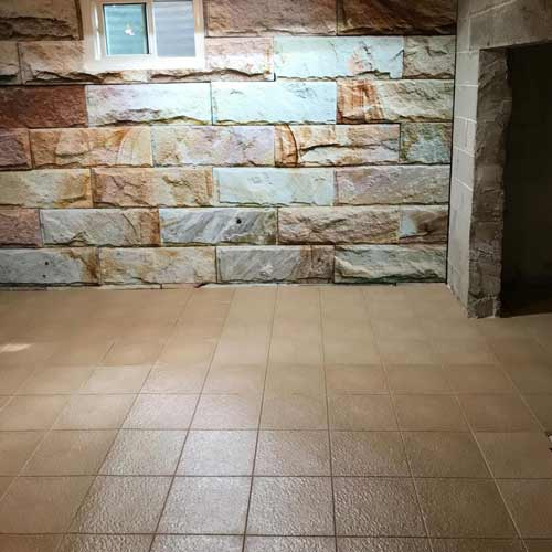 Hiddenlock Slate Floor Tile Colors Customer Installation