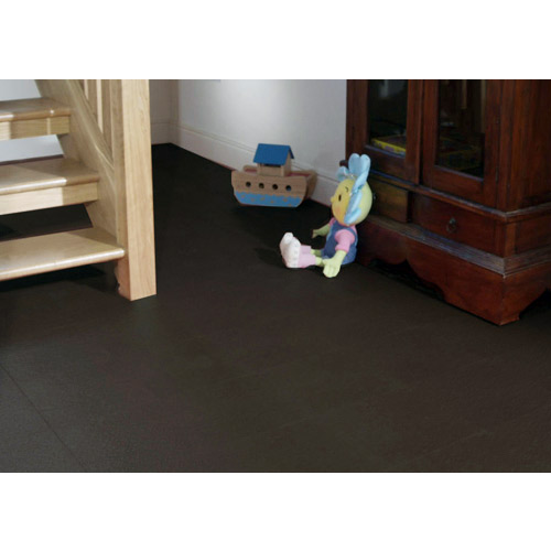 Leather PVC Floor Tile Colors basement flooring.