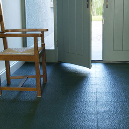 Home Style Slate Floor Tile Colors entrance.