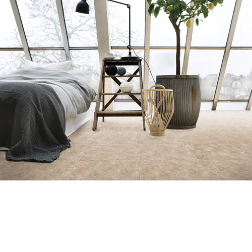 HomeStyle Stone Floor Tile In Bedroom
