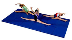 Basement Home Tumbling and Gymnastics Mats