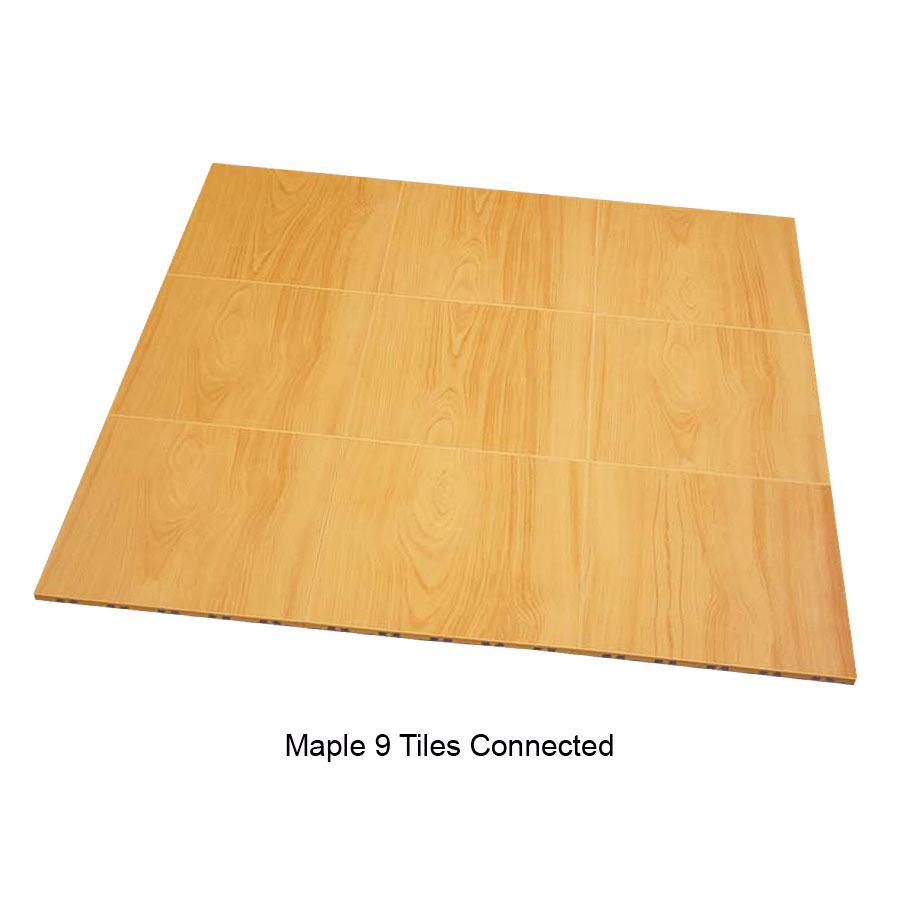 Raised floor tile max tile modular basement flooring max tile raised modular floor tile 9 tiles together maple dailygadgetfo Choice Image