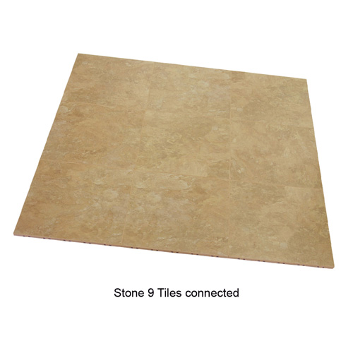 Max Tile Raised Modular Floor Tile 9 tiles together Stone.