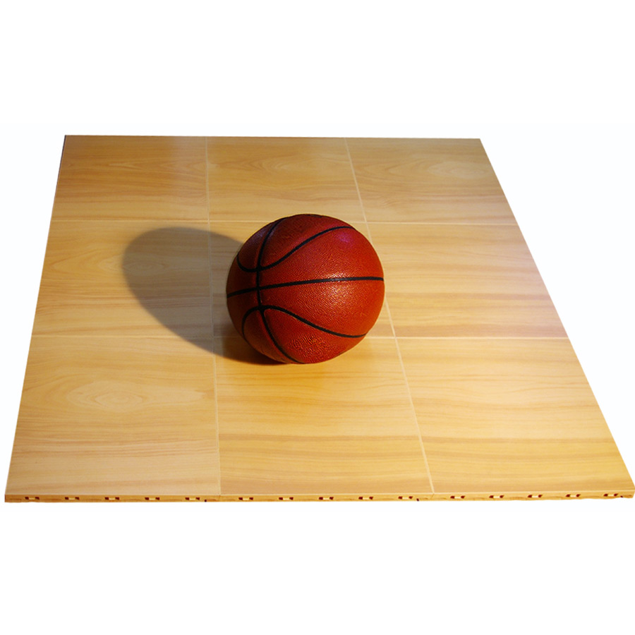 Max Tile Raised Modular Floor Tile showing basketball.