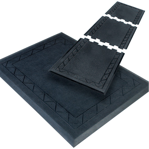 Comfort Zone Grease Resistant Mat 28x36 Inches Black