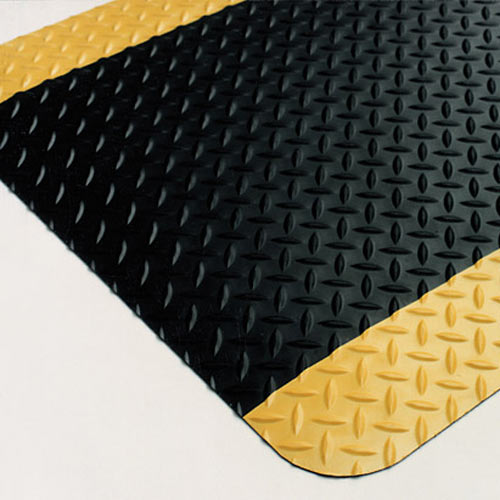 Cushion Dekplate Safety Edge 2x3 Ft Anti Fatigue Mat