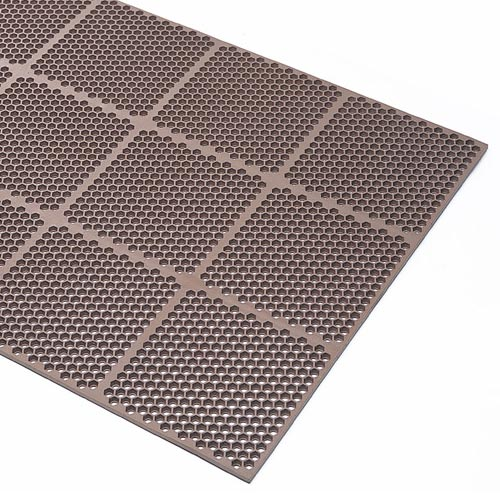 Honeycomb Medium Duty Brown Mat 3x2 Feet Full Zoom