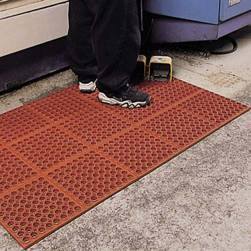 VIP Tuffdek Red Mat 3x2 Feet - Industrial Kitchen Mat