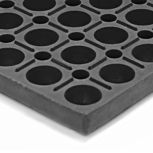 VIP Duralok Black Stub 3x5 Feet Black