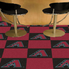 Carpet Tile MLB Arizona Diamondbacks 18x18 Inches 20 per carton thumbnail