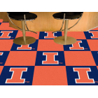 Carpet Tile University of Illinois 18x18 Inches 20 per carton