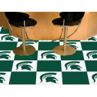 Carpet Tile Michigan State University 18x18 Inches 20 per carton