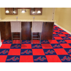 Carpet Tile MLB Atlanta Braves 18x18 Inches 20 per carton