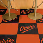 Carpet Tile MLB Baltimore Orioles 18x18 Inches 20 per carton